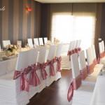 19 Huse scaun si esarfe colorate Targoviste Hotel Tolea Roxy Style