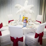55 aranjament pene pentru mese invitati Targoviste Up Town by Roxy Style 0729491225